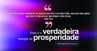 Imagens Evangélicas Verdadeira Teologia da Prosperidade