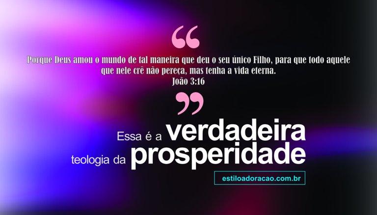 Photo of Imagens Evangélicas: Verdadeira Teologia da Prosperidade