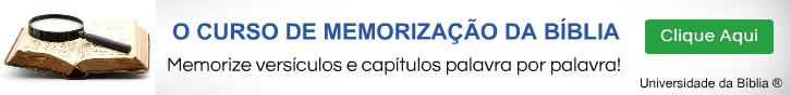 Banner Horizontal Curso de Memorizaçao