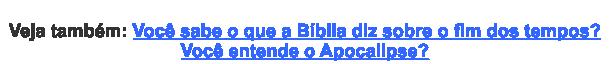 Pergunta Estudo Bíblico