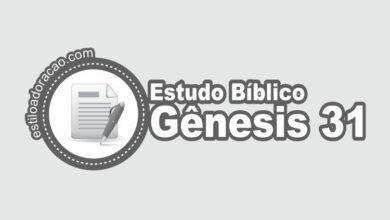 Photo of Estudo Bíblico de Gênesis 31