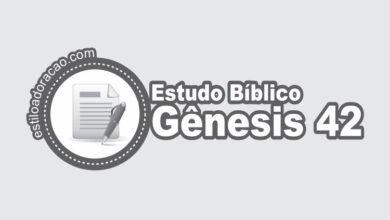 Photo of Estudo Bíblico de Gênesis 42