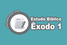 Photo of Estudo Bíblico de Êxodo 1