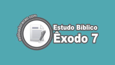 Photo of Estudo Bíblico de Êxodo 7