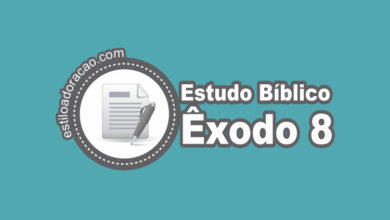 Photo of Estudo Bíblico de Êxodo 8