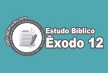 Photo of Estudo Bíblico de Êxodo 12